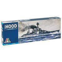 Italeri H.M.S. Hood Battle Cruiser Plastic Model Military Ship Kit 1/720 Scale #0501s