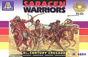 Italeri Saracen Warriors w/Horses 11th Century (16) Plastic Model Military Figure 1/32 Scale #06854