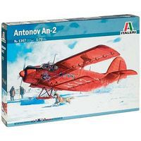 Italeri Antonov AN-2 Colt Plastic Model Airplane Kit 1/72 Scale #1367s