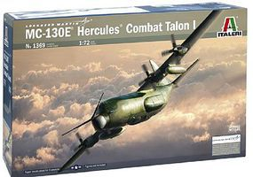 Italeri MC-130H Combat Talon I Plastic Model Airplane Kit 1/72 Scale #1369s