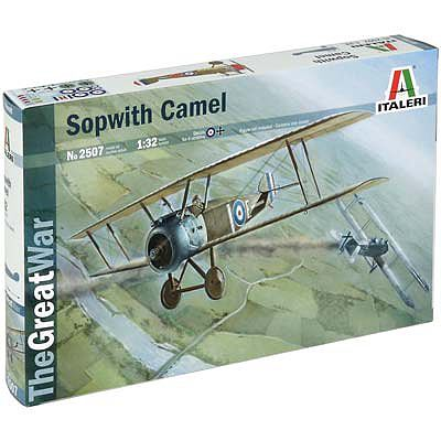 Italeri Sopwith Camel -- Plastic Model Airplane Kit -- 1/32 Scale -- #2507s