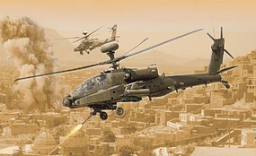 AH-64D Longbow Apache Plastic Model Helicopter Kit 1/48 Scale #2748s