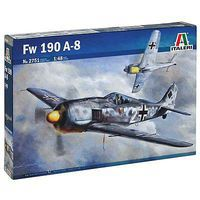 Italeri Focke Wulf FW 190 A-8 Plastic Model Airplane Kit 1/48 Scale #2751s