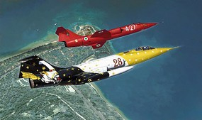Italeri 1/48 F104G Starfighter Special Colors Jet Aircraft
