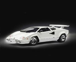 Italeri Lamborghini Countach 5000 Quattrovalvole Plastic Model Car Kit 1/24 Scale #3683s