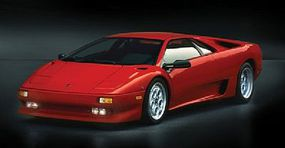 Italeri Lamborghini Diablo Plastic Model Car Kit 1/24 Scale #3685s