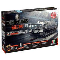 Italeri World of Tanks Ferdinand Plastic Model Military Vehicle 1/35 Scale #37501