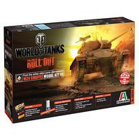 Italeri World of Tanks M24 Chaffee Plastic Model Military Vehicle 1/35 Scale #37504