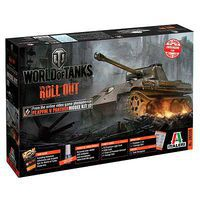 Italeri World of Tanks Panther Plastic Model Military Vehicle 1/35 Scale #37506