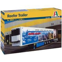 Italeri Reefer Trailer Plastic Model Trailer Kit 1/24 Scale #3904s
