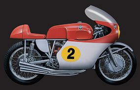 Italeri 1964 MV Agusta 4 Cylinders 500cc Plastic Model Motorcycle Kit 1/9 Scale #4630s