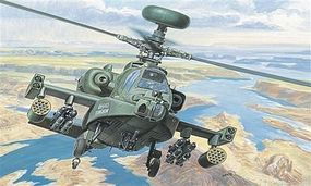 Italeri AH-64D New Apache Longbow - Plastic Model Helicopter Kit - 1/72 Scale - #550080s