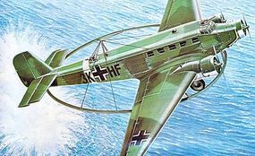 Italeri Ju52/mg6e Minesweeper Aircraft Plastic Model Airplane Kit 1/72 Scale #550126