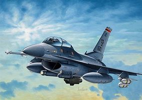 Italeri F-16C Night Falcon Plastic Model Airplane Kit 1/72 Scale #550188