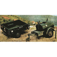 Italeri 250 Gal. S Tank /M101 Cargo Trailers Plastic Model Military Vehicle Kit 1/35 Scale #550229