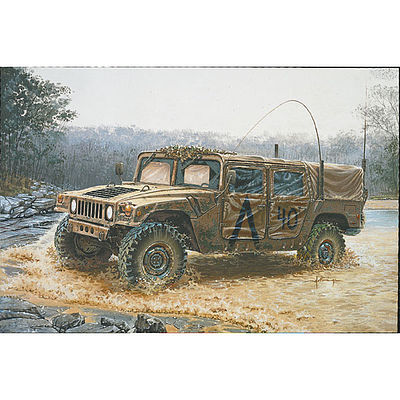 Italeri Commando Hummer Plastic Model Military Vehicle Kit 1/35 Scale #550273