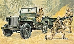 Jeep Plastic Model Military Vehicle Kit 1/35 Scale #550314