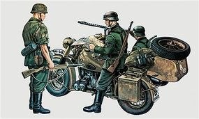 Italeri BMW & Sidecar Plastic Model Military Vehicle Kit 1/35 Scale #550315