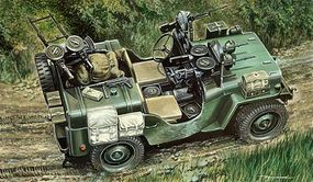 Italeri Commando Car Plastic Model Military Vehicle Kit 1/35 Scale #550320