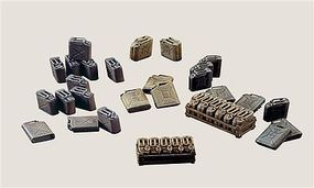 Italeri Jerry Cans - Plastic Model Military Accessory 1/35 Scale #550402 - #550402s