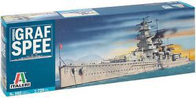 Italeri Admiral Graf Spee German Pocket Battleship Plastic Model Military Ship Kit 1/720 #550502
