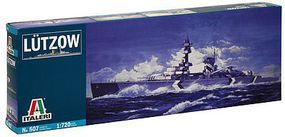 Italeri Lutzow German Pocket Battleship Plastic Model Military Ship Kit 1/720 Scale #550507