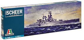 Italeri Admiral Scheer German Pocket Battleship Plastic Model Military Ship Kit 1/720 Scale #550508