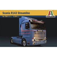 Italeri Scania R143 Streamline Plastic Model Truck Kit 1/24 Scale #550726