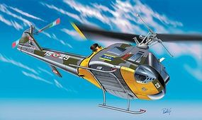 Italeri AB 204-B/UH-1 F Helicopter Plastic Model Helicopter Kit 1/72 Scale #551201