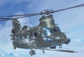 Italeri MH-47 E SOA Chinook Plastic Model Helicopter Kit 1/72 Scale #551218