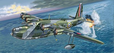 Italeri Sunderland Mk.I Science Fiction Plastic Model Kit 1/72 Scale #551302