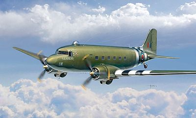 Italeri Dakota Mk.III Plastic Model Airplane Kit 1/72 Scale #551338