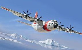 Italeri C-130J US Coast Guard Plastic Model Airplane Kit 1/72 Scale #551348