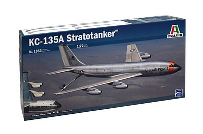 Italeri KC-135A Stratotanker -- Plastic Model Airplane Kit -- 1/72 Scale -- #551353