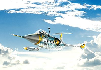 Italeri F-104 A/C Starfighter Plastic Model Airplane Kit 1/72 Scale #551359