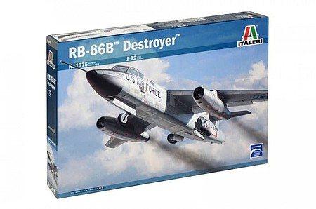 Italeri RB66B Destroyer USAF Recon Plastic Model Airplane Kit 1/72 Scale #551375