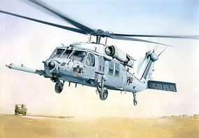 MH-60K Blackhawk SOA Plastic Model Helicopter Kit 1/48 Scale #552666