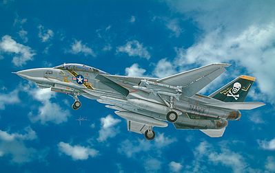 Italeri F-14A Tomcat Plastic Model Airplane Kit 1/48 Scale #552667