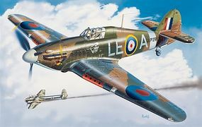 Italeri Hurricane Mk.I Plastic Model Airplane Kit 1/48 Scale #552705