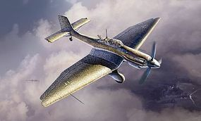 Italeri Ju-87 D-5 Stuka Plastic Model Airplane Kit 1/48 Scale #552709