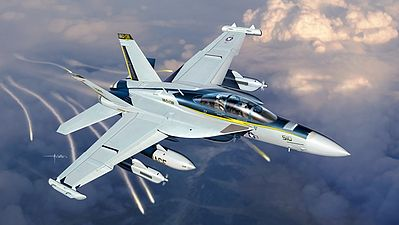 Italeri EA-18G Growler Plastic Model Airplane Kit 1/48 Scale #552716
