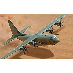 Italeri Hercules C-130J CS -- Plastic Model Airplane Kit -- 1/48 Scale -- #552746