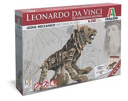 Italeri DaVinci Mechanical Lion Science Engineering Kit #553102