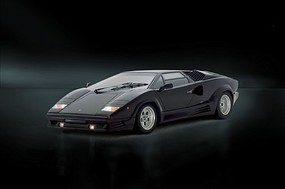 Italeri Lamborghini Countach Sports Plastic Model Car Kit 1/24 Scale #553684