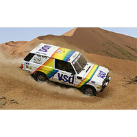 Italeri Range Rover Paris/Dakar Plastic Model Truck Kit 1/24 Scale #553694