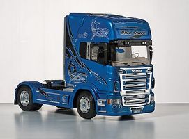 Italeri Scania R620 Blue Shark Plastic Model Truck Kit 1/24 Scale #553873