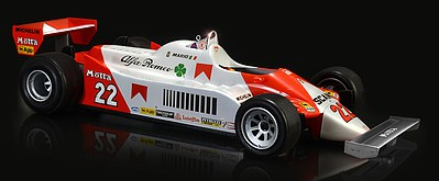 Italeri Alfa Romeo 179/179C Classic Car (New Tool) Plastic Model Car Kit 1/12 Scale #554704