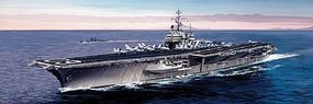 Italeri USS Saratoga CV60 Aircraft Carrier Plastic Model Military Ship Kit 1/720 Scale #555520