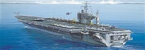 Italeri USS Theodore Roosevelt Aircraft Carrier Plastic Model Military Ship Kit 1/720 Scale #555531