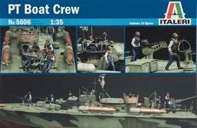 Italeri PT Boat Crew Figures Plastic Model Military Figure Kit 1/35 Scale #555606